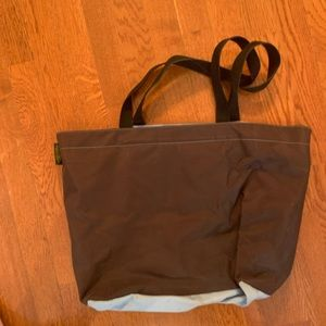Herve Chaplelier large nylon shoulder bag